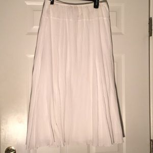 Ruby Rd White Skirt! Size 18 SFH